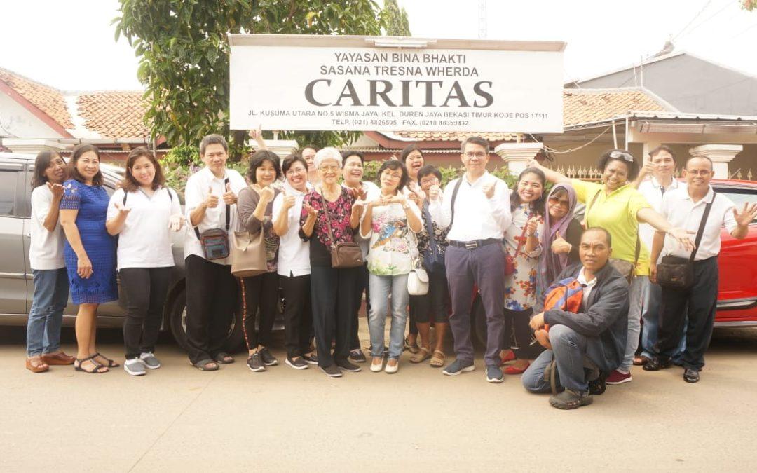 Pelayanan Misi & Sosial 30 Maret 2019 – Panti Werdha Caritas Wisma Jaya Bekasi